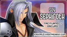 que personaje de kingdom hearts eres? Sephiroth